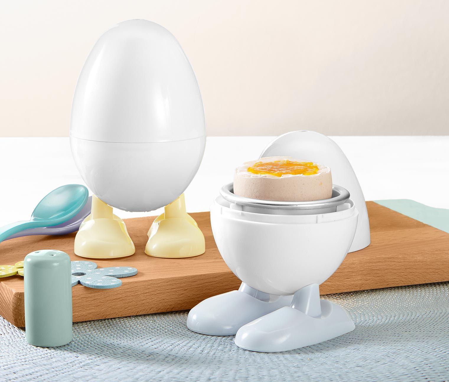 Urzadzenie Do Gotowania Jajek W Kuchence Mikrofalowej 2 Sztuki Tchibo Egg Cup Online
