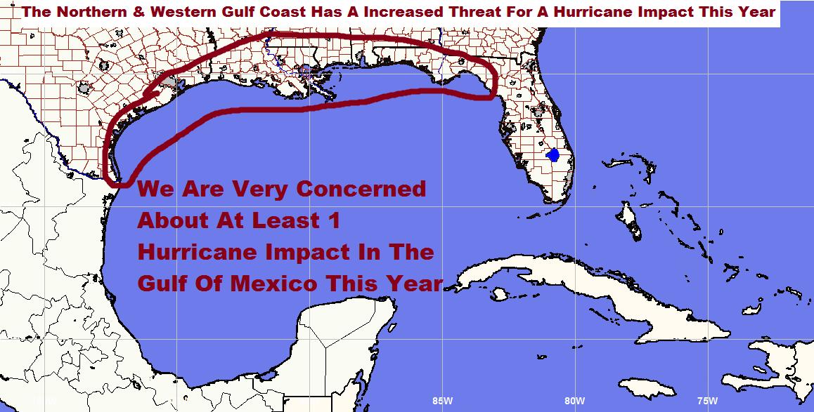 2016 Atlantic Caribbean  Gulf Of Mexico Hurricane Season