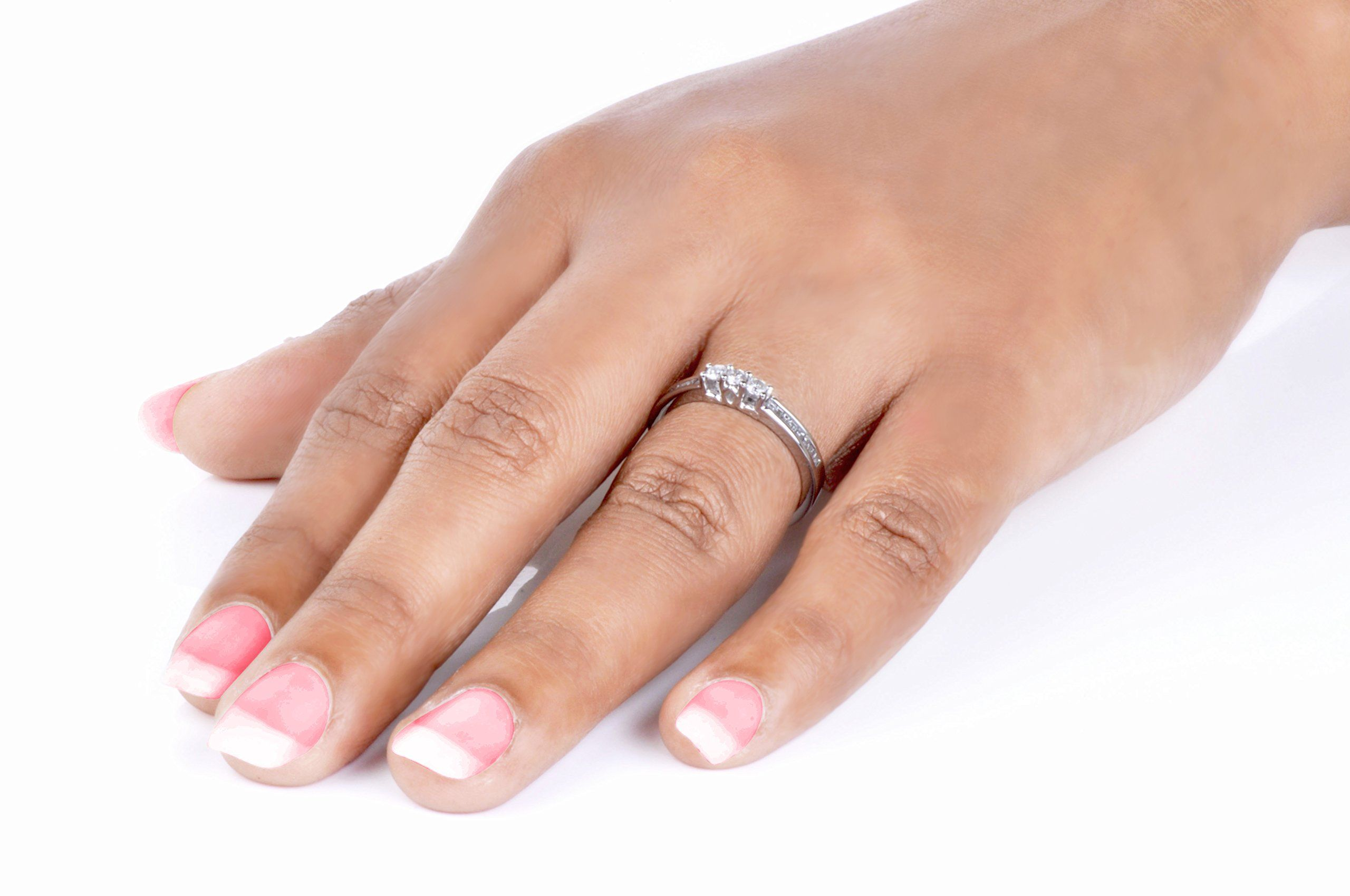 Diamond Engagement Ring 1 3 Carat Ctw In 14k White Gold Affiliate Diamond Diamond Engagement Rings Engagement Rings Engagement Ring Carats
