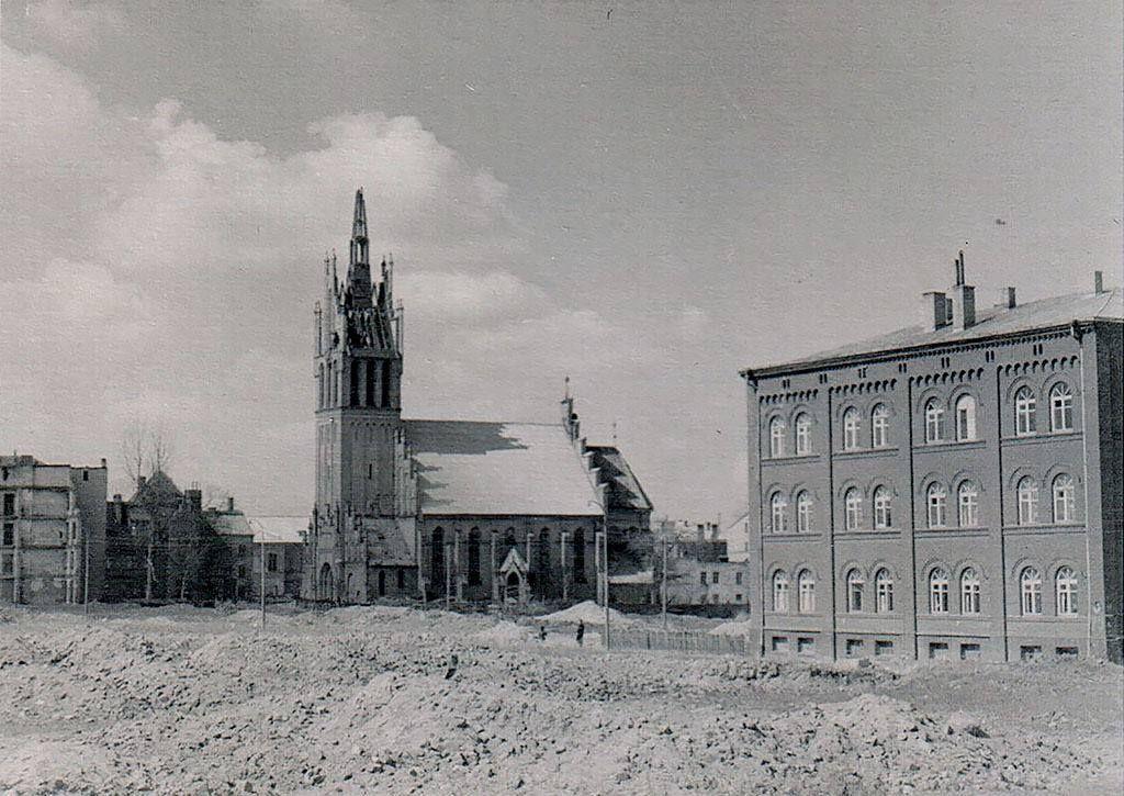 Кирха Святого Семейства. 1960г. Из архива Селина Виктора