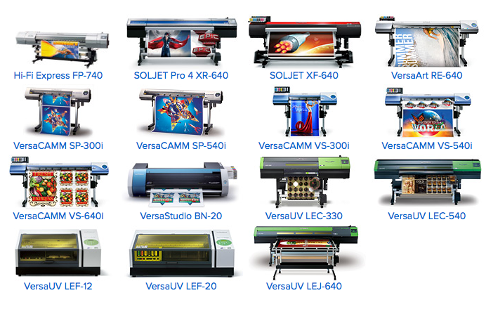 Roland Printers offer superior digital printing equipment