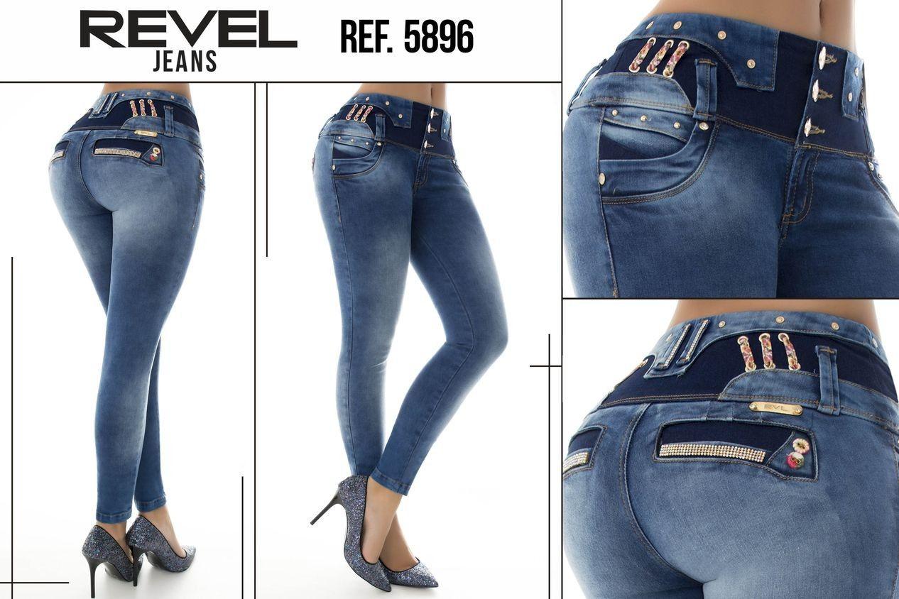 Pantalón colombiano Revel +Modelos en: http://www.ropadesdecolombia ...