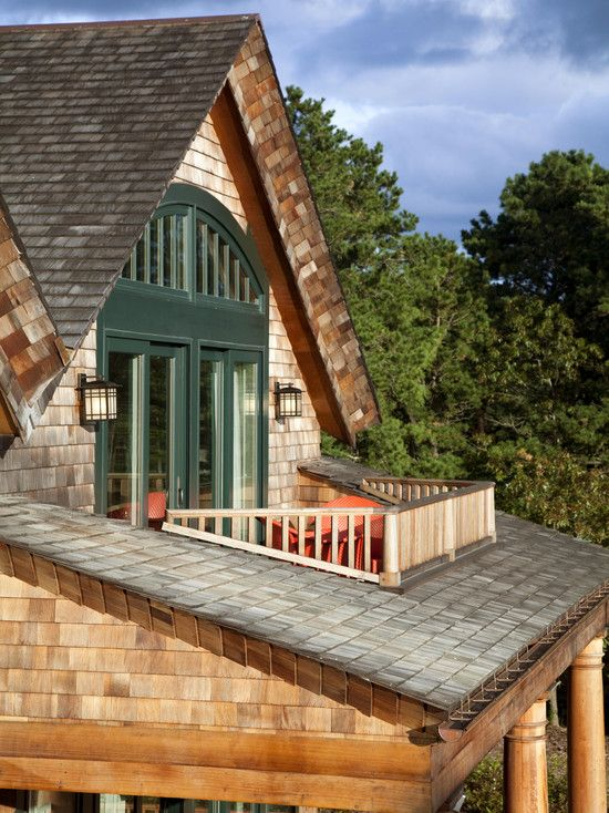 Dormer With Balcony Design Pictures Remodel Decor And Ideas Page 44 Garage Pinterest