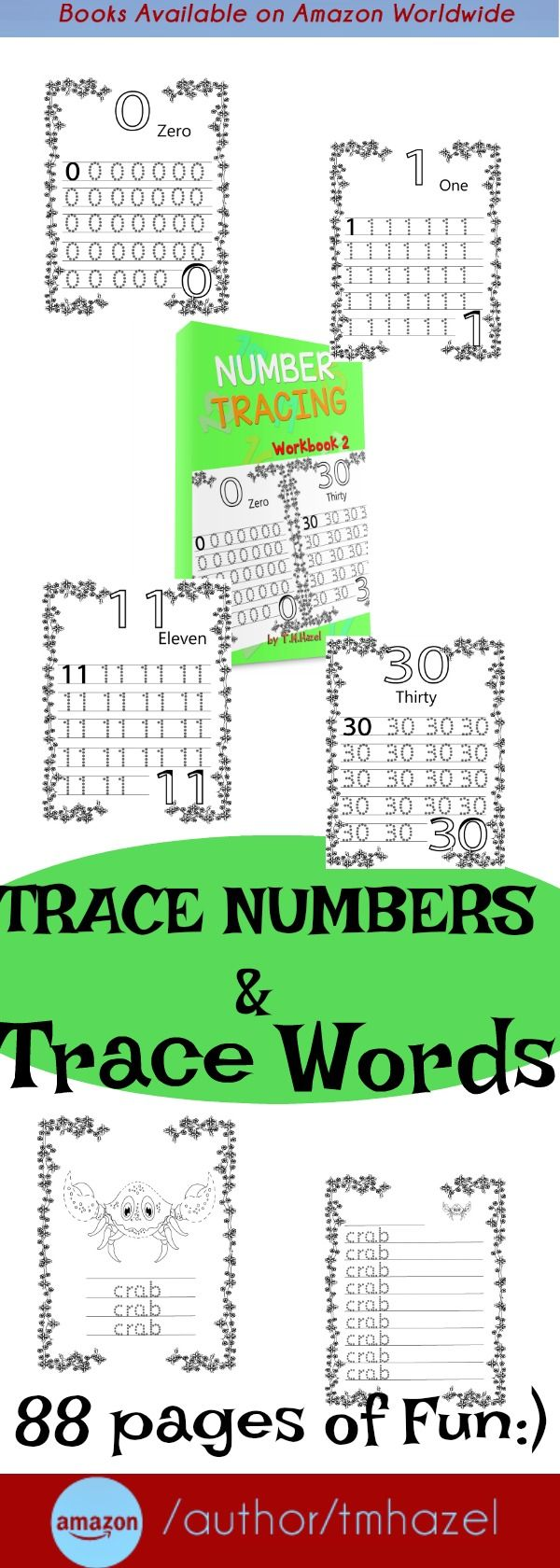 How To Trace Numbers and Words! Numbers, preschool handwriting, Colouring, Pre-School books, Preschool math, Learning Numbers, preschool counting, Homeschool, Fine Motor, Toddler Preschool, Toddler, Counting, Maths, Counting activities, numbers learning, kids activities, writing practice, numbers handwriting, numbers tracing,numbers pre-school, preschool, tracing ,handwriting ,colouring.