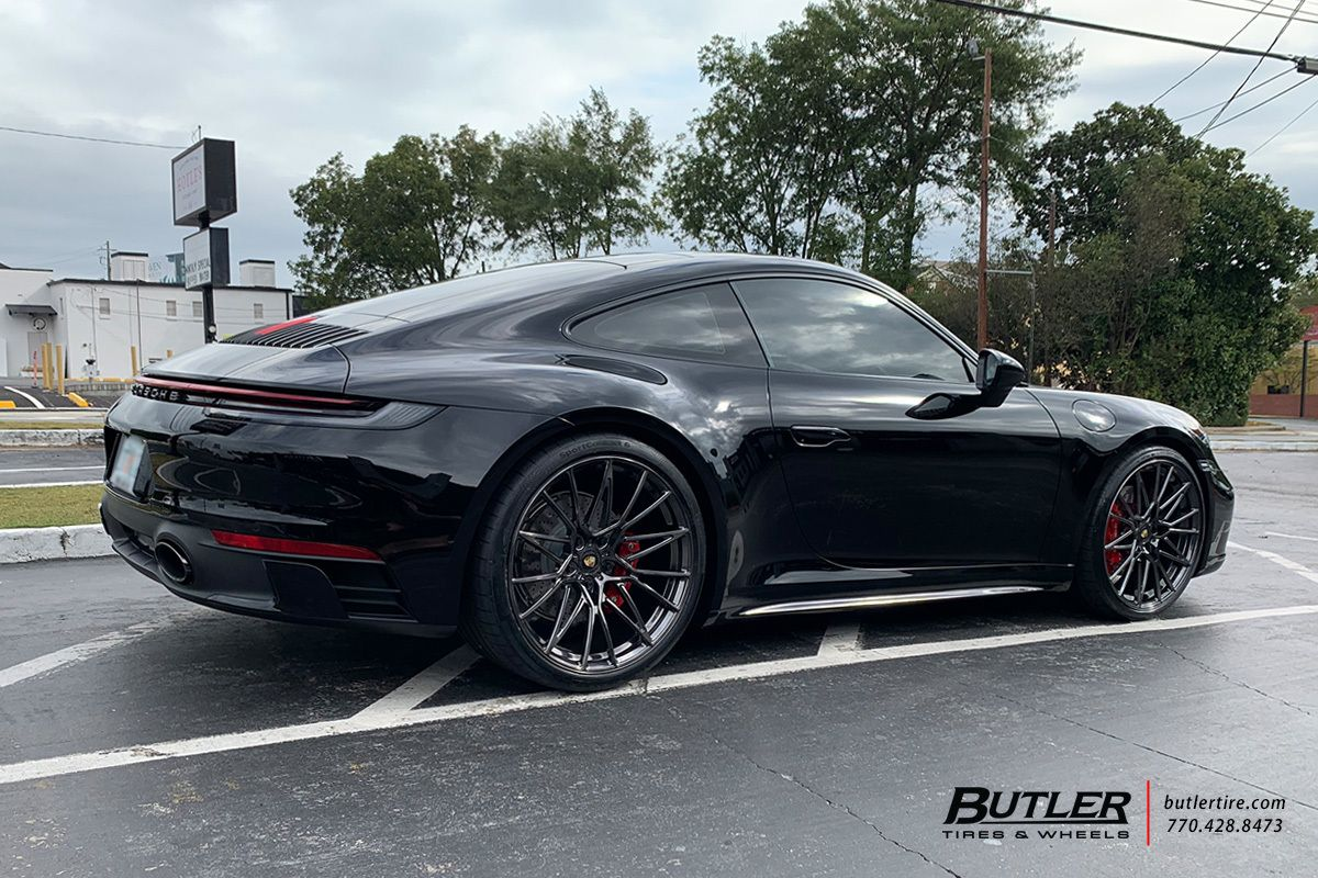 Porsche 992 - 911 Carrera 4S with 22in AG Luxury AGL58 Wheels exclusively from Butler Tires and Wheels in Atlanta, GA - Image Number 11606