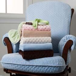 Minky Glider Chair Cover Rocking Chair Cushions   ABaby.Com