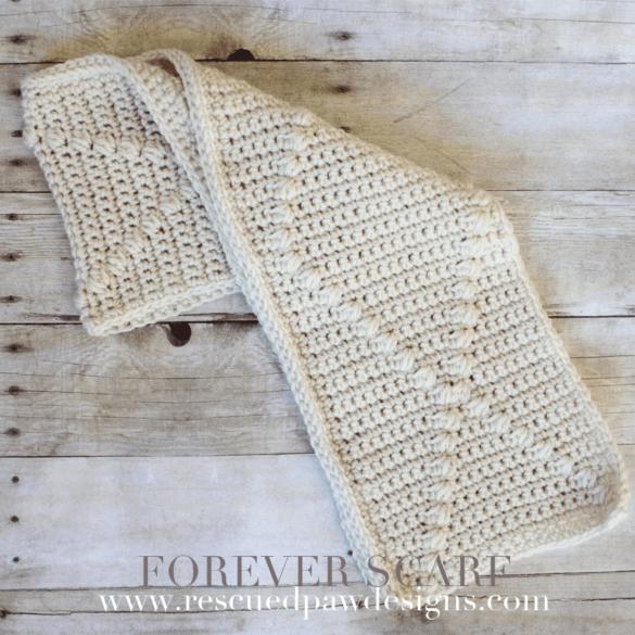 Forever Scarf - Crochet Pattern