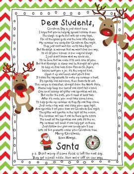Reindeer food letter from santa and bag toppers reindeer food reindeer food letter from santa and bag toppers spiritdancerdesigns Image collections