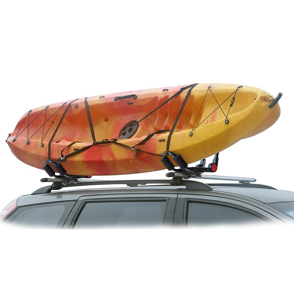 Canoeing Onefeng Sports Kayak Rack Set of Two Kayak Roof