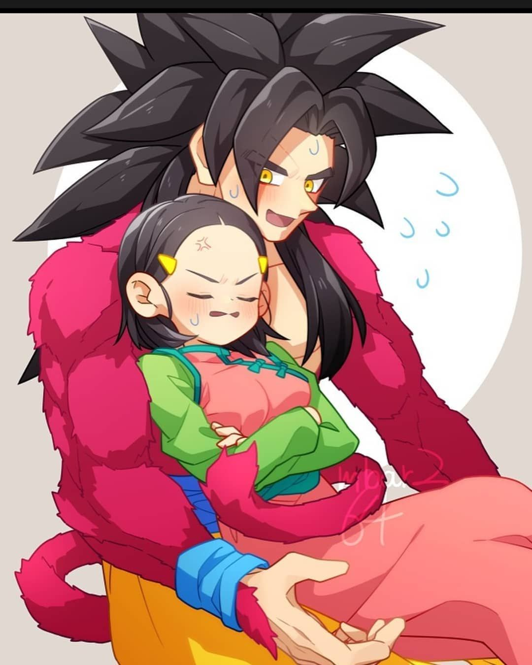 Dragonball Art On Instagram Ssj4 Goku With His Wife Chi Chi Done By Mbar2 64 Follow Dragon Ball Super Manga Anime Dragon Ball Super Dragon Ball Super Funny