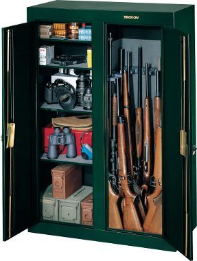 Cabelau0027s: Stack On 16 Gun Double Door Cabinet