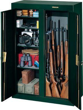 Genial Cabelau0027s: Stack On 16 Gun Double Door Cabinet