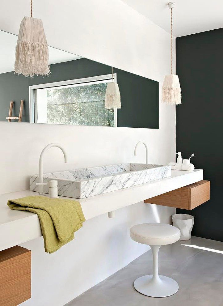 Home from the \u002780s by Ml-h design, south of France bathroom in the