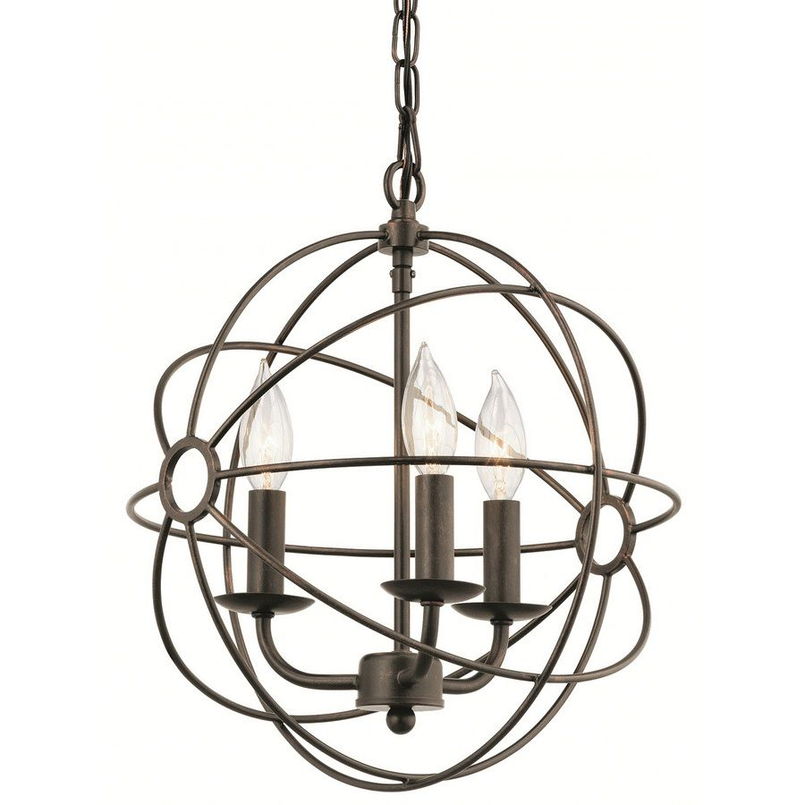 Kichler Lighting Vivian 12 89 In Coffee With Copper Accents
