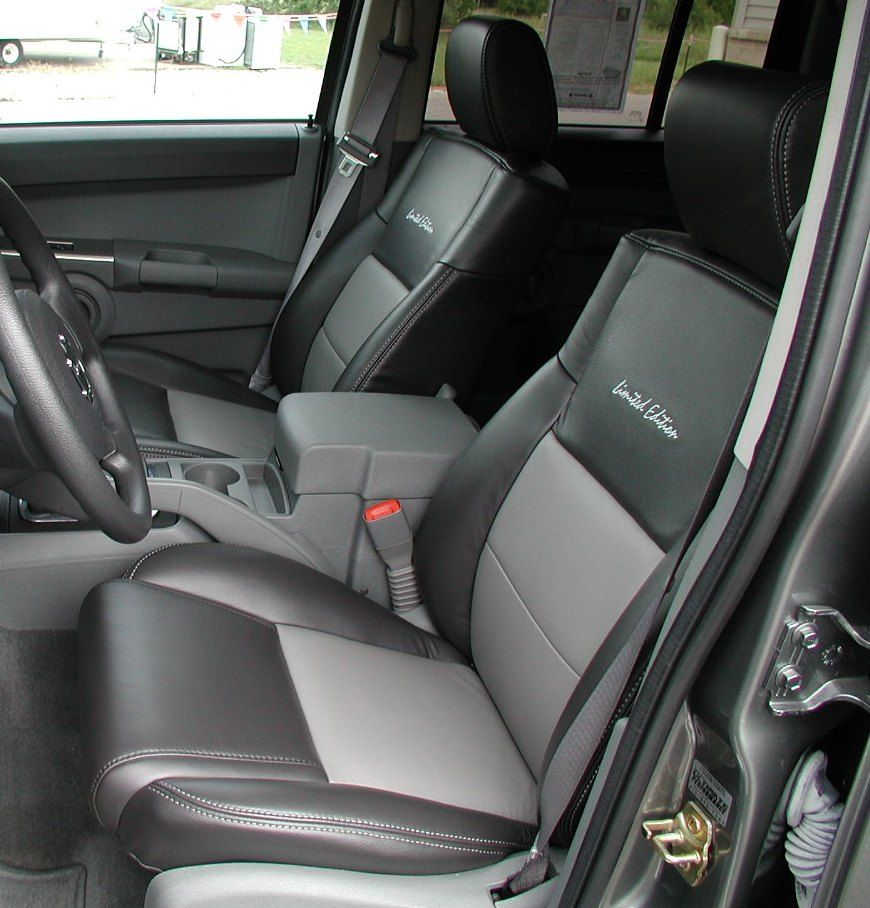 Limited Edition Custom Automotive Leather Seats; Jeep