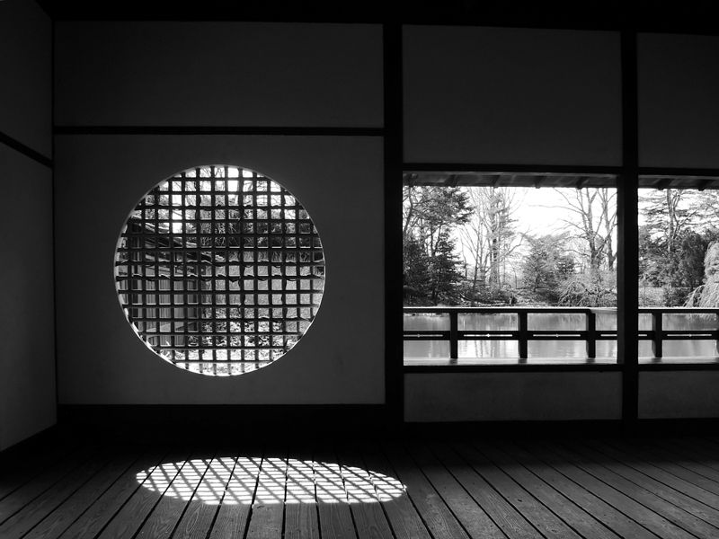 precision poetics » Shadow and Light in a Japanese Garden