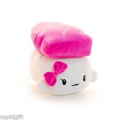 Sushi Plush Pillow 6 Cushion Doll Toy Japanese Food Gift Bedding