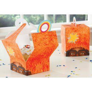 Love these DJ lance cupcake boxes!
