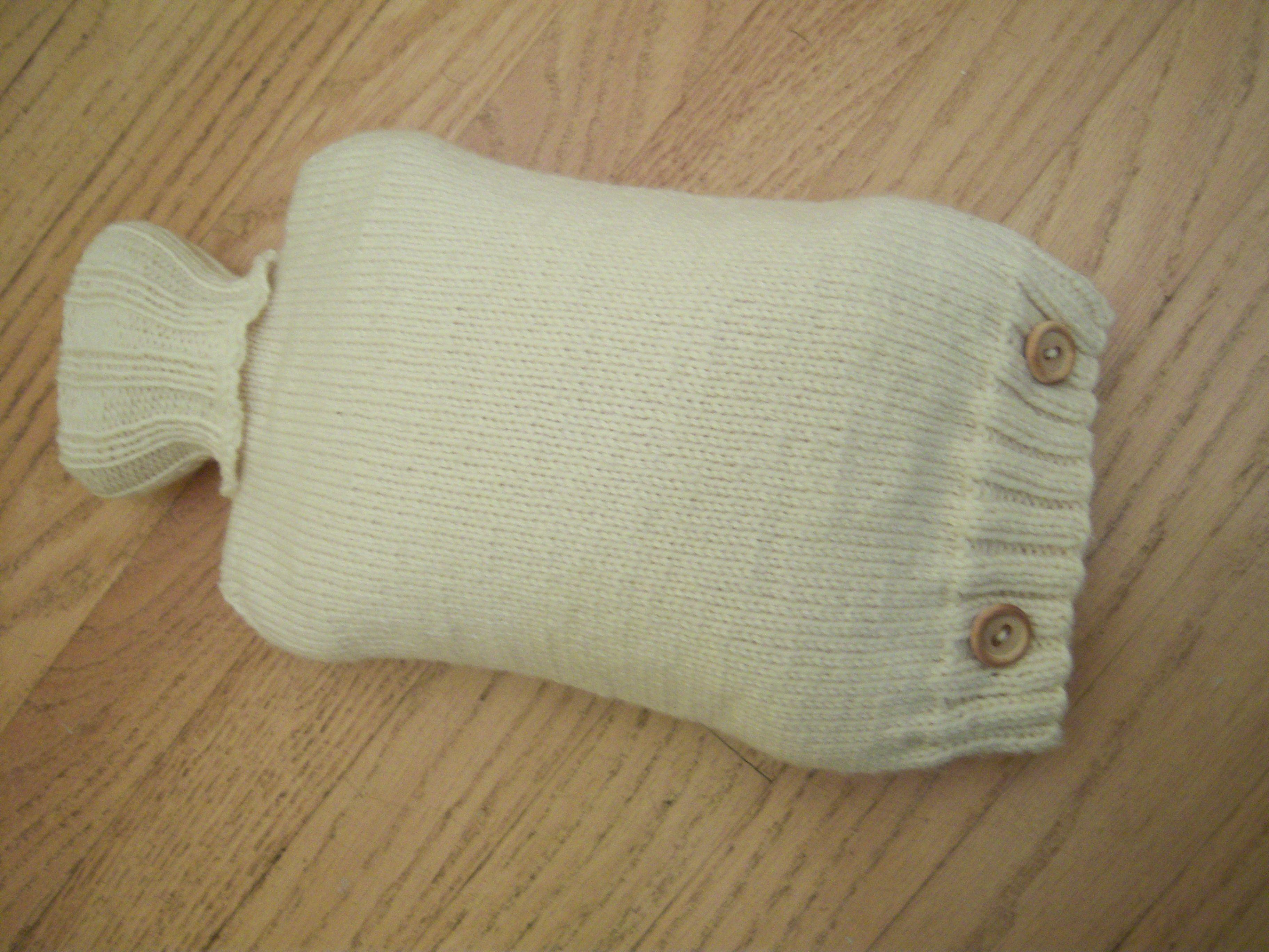 Hot Water Bottle Cover Pattern - KnitPicks Staff Knitting Blog ...