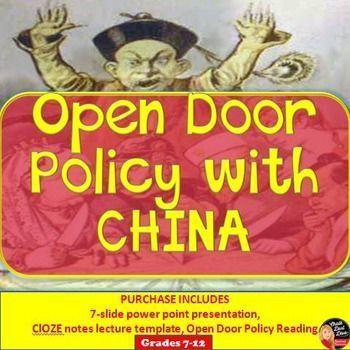 Open Door Policy History
