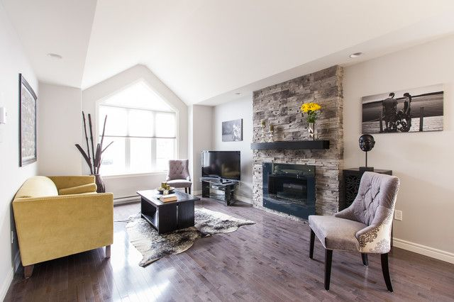 Beautiful Small Living Room Design Interior Decorated with Contemporary Fireplace Mantel Shelf Design Ideas
