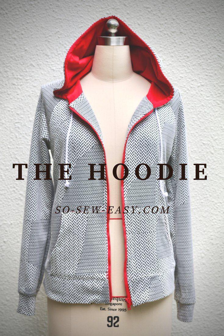 ed4a10e67f6 Patron gratuit de hoodie (sweat à capuche