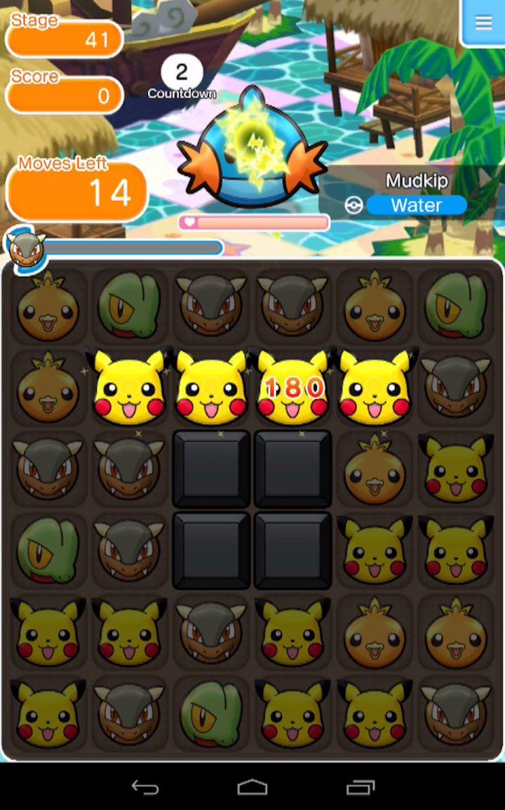 Jogo Pokémon Shuffle Mobile é lançado para o Android