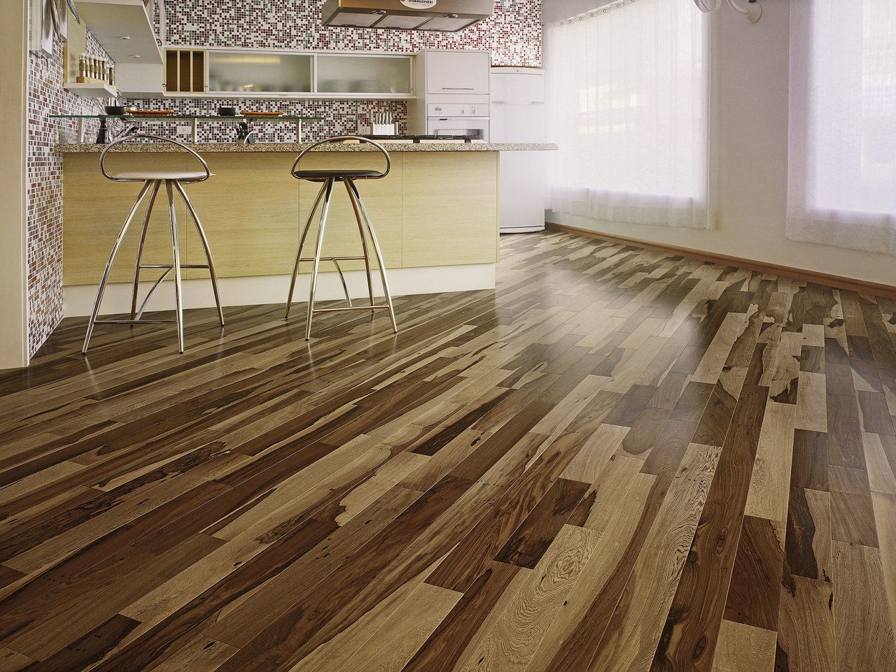 Triangulo Brazilian Pecan 1 2 X 5 1 4 Engineered Hardwood Engineered Wood Floors Hickory Hardwood Floors Best Engineered Wood Flooring