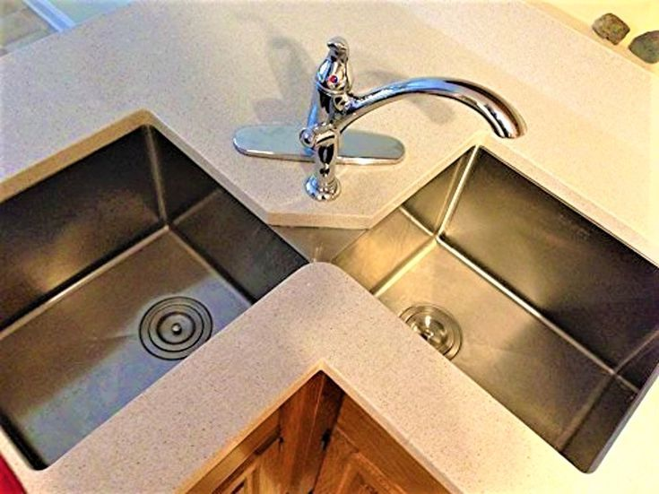 What S Good And Bad About All Types Of Kitchen Sinks Corner Sink Kitchen Best Kitchen Sinks Kitchen Sink Design