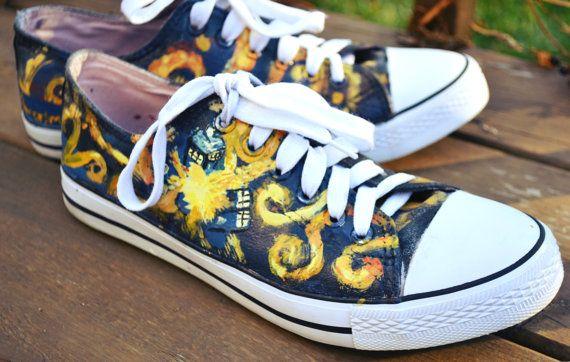 van gogh tardis chaussures