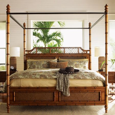 Tommy Bahama West Indies Bed British Colonial Decor British