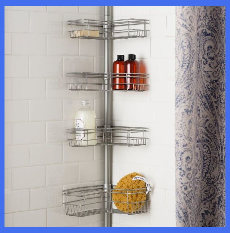 Master Bathroom Ideas Five Tips For A Great Master Bathroom Corner Shower Caddy Corner Shower Shower Caddy