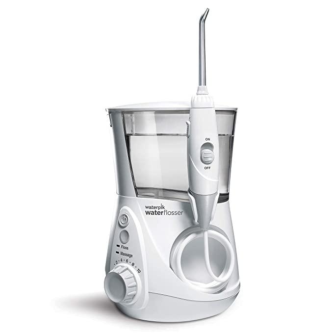 Amazon Com Waterpik Wp 660 Water Flosser Electric Dental Countertop Professional Oral Irrigator For Teet In 2020 Waterpik Water Flosser Waterpik Flosser Water Flosser