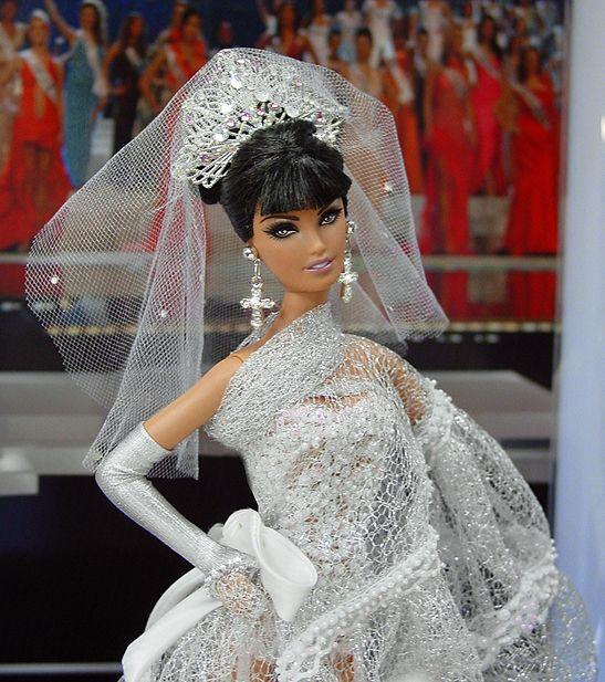 OOAK Barbie NiniMomo's Miss Chuvashia 2011