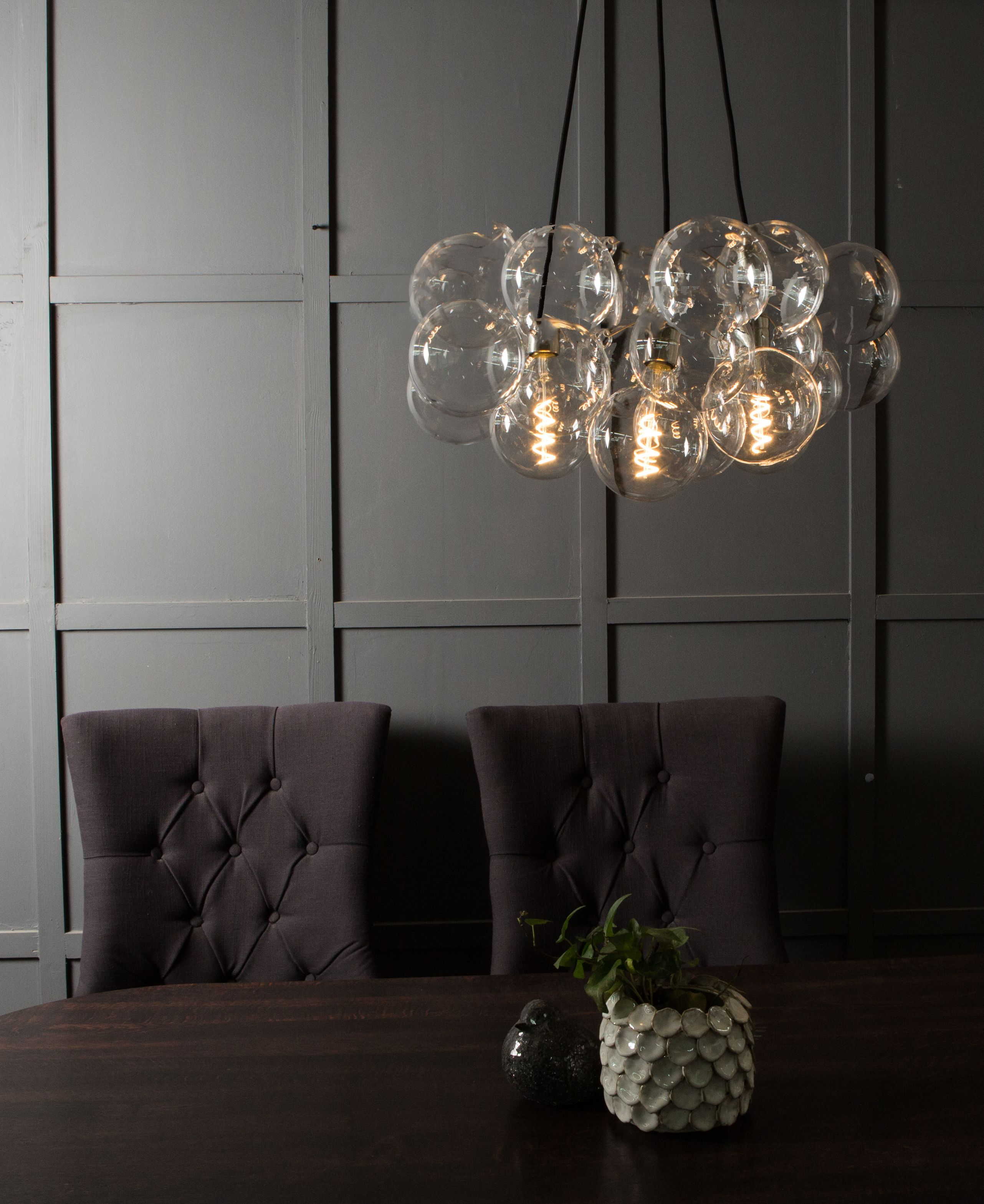 We Just Love The Way Our Bubble Lights Look In A Room Perfect Focal