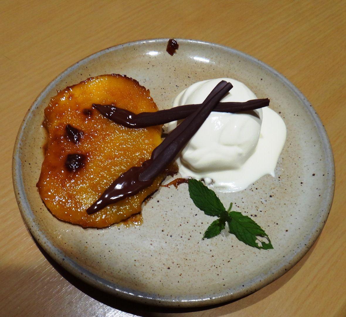 #Mangue #mango #chocolat #facil #sencillo #easy flambé sur http://on.fb.me/1a3QtQZ
