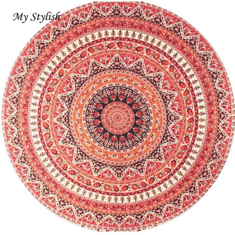 >> Click to Buy << 1PCS Round Hippie Tapestry Beach Throw Roundie Mandala Towel Mat Bohemian Stylish Nov 21 #Affiliate