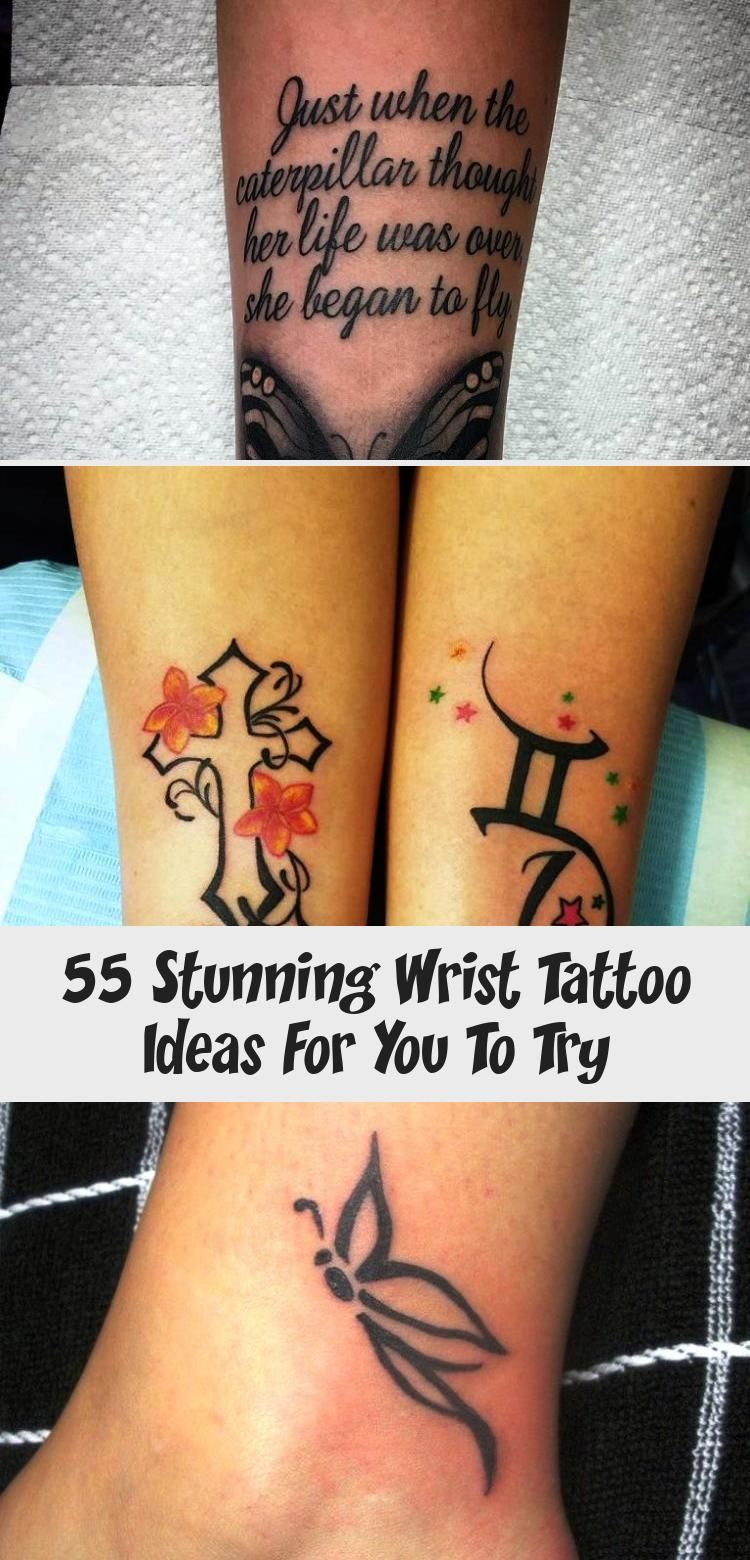 55 Stunning Wrist Tattoo Ideas For You To Try - Tattoos