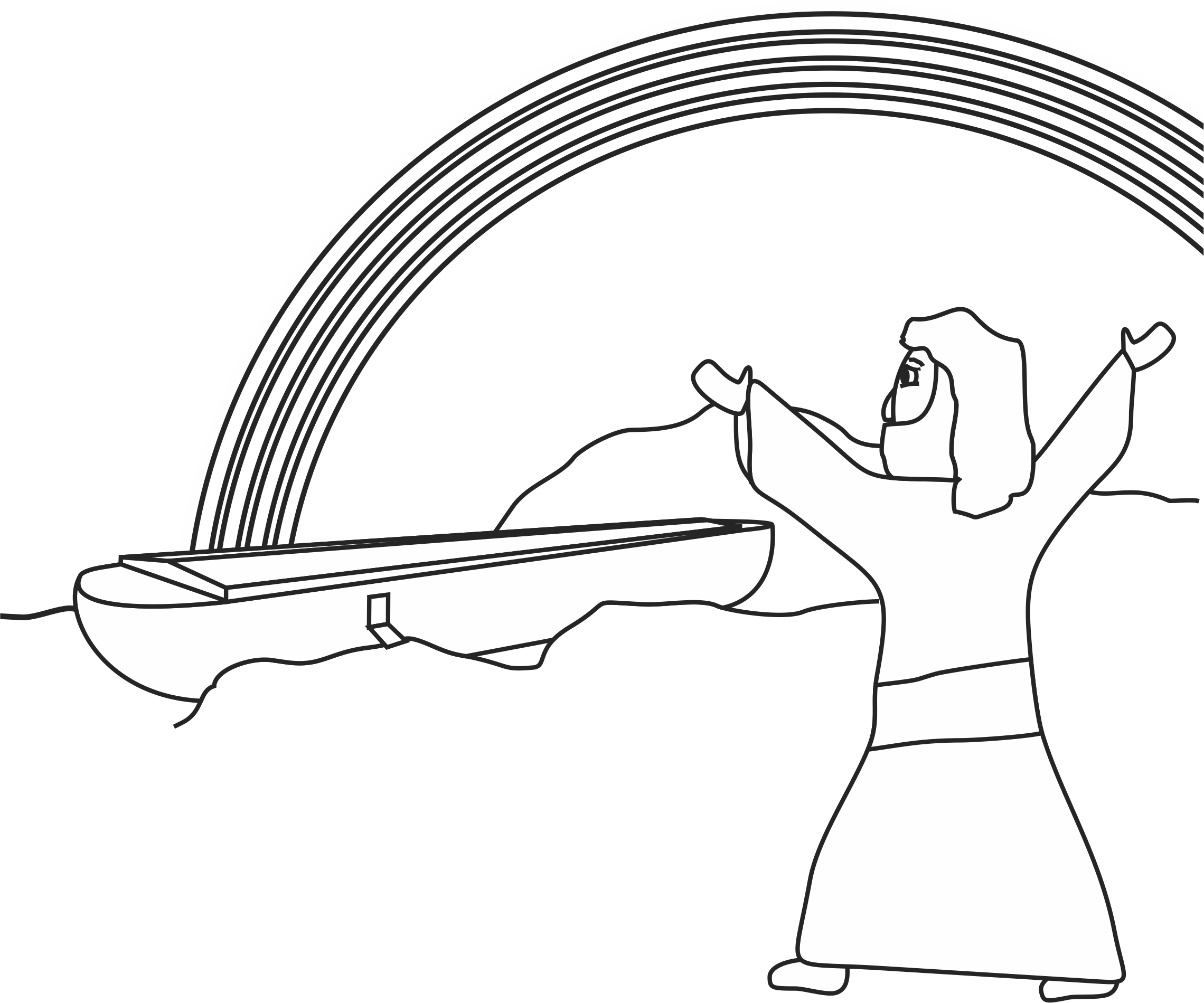 Noah Coloring Page | Our Bible Coloring Pages | Pinterest | Sunday ...