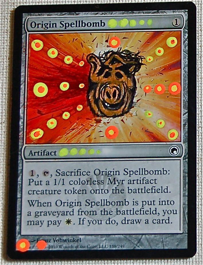 Mtg Origin Spellbomb Alf Thing 1