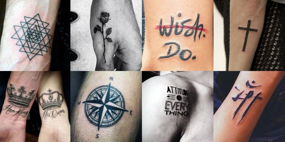 101 Best Small Simple Tattoos For Men 2020 Guide Small Tattoos For Guys Simple Tattoos For Guys Tattoos For Guys