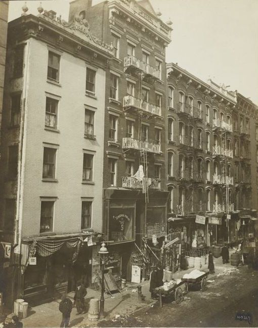 Pin By 100 Years Ago On Years 1898 1900 New York City Street