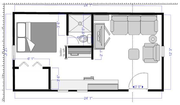 Terrific 17 Best Images About Tiny Plans On Pinterest Square Floor Plans Largest Home Design Picture Inspirations Pitcheantrous