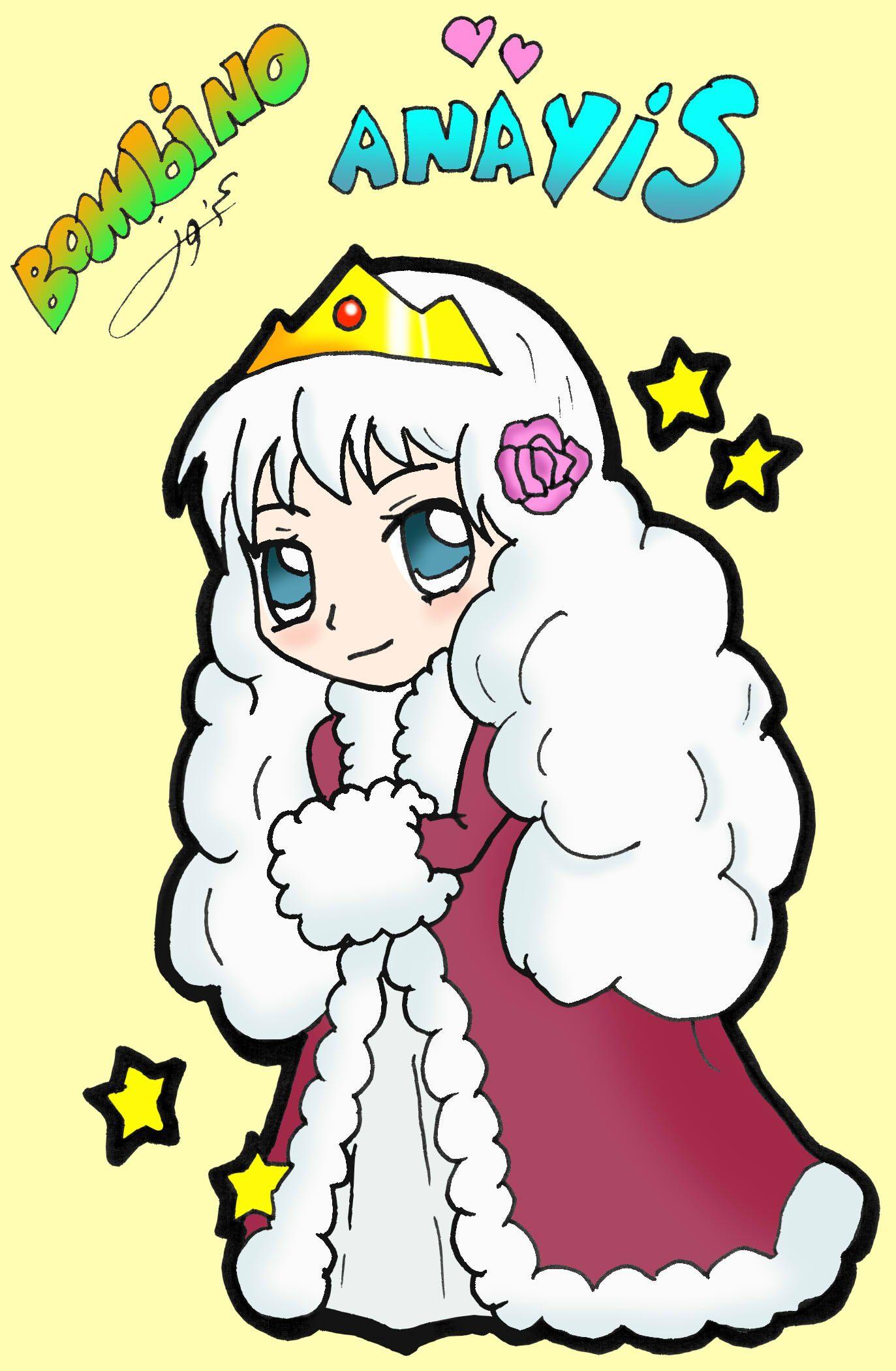 اناييس كنزة Chibi Mario Characters Character