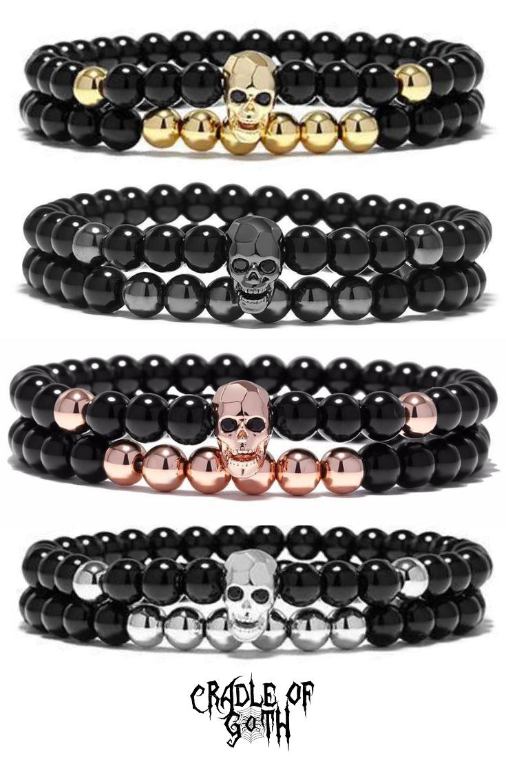 Death Charm Bracelet  #gothclothes