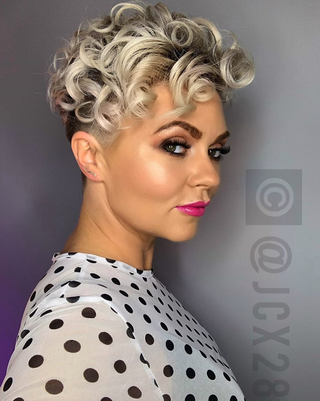 Stylen undercut frauen 1950s Hairstyles