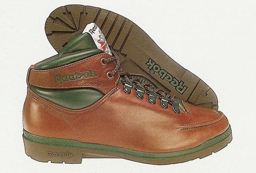 Reebok Rugged Walker High brown and green