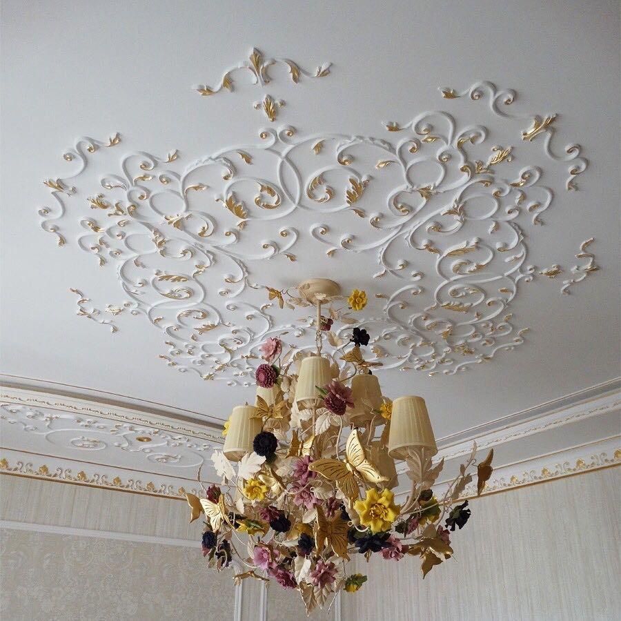 мышца потолок декор с картинкой типам изучаемых
