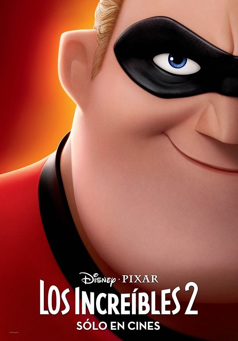 Incredibles 2 Character Posters Bring The Family Together The Incredibles Incredibles 2 Poster Movie Posters