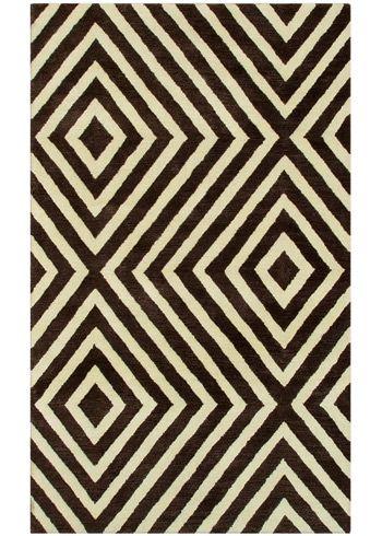 Geometric Design Zuel Rug Black White Prints Are My Fave